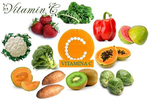 Vitamin C có nhiều trong bưởi, cam, chanh, đu đủ...