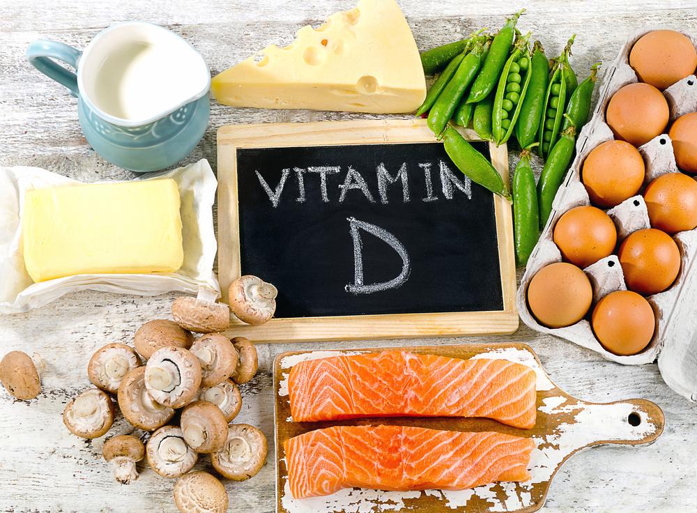 Các loại thực phẩm chứa nhiều Vitamin D