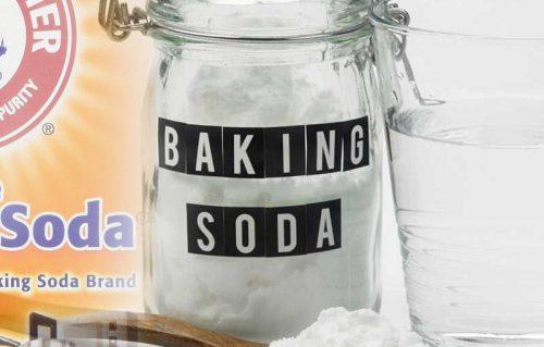 Cách lấy cao răng bằng baking soda.