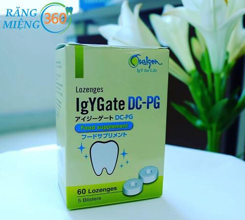 Viêm ngậm chống sâu răng IgYGate