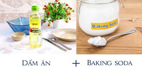 Công dụng tuyệt vời của dấm và baking soda để lấy cao răng.