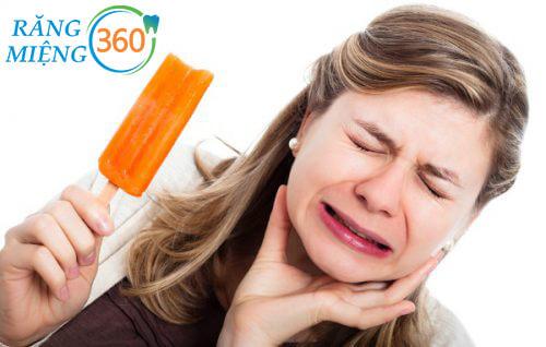 Răng ê buốt là dấu hiệu sâu răng hàm
