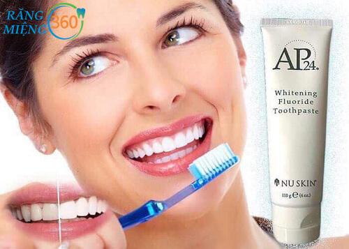Cách đánh răng bằng ap24