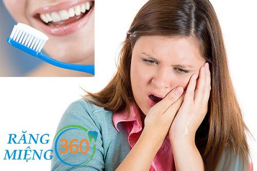 nhổ răng xong có được đánh răng không