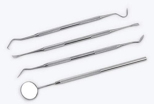 dụng cụ lấy cao răng nha khoa