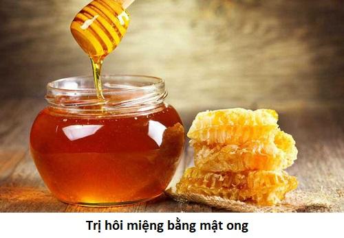 Cách trị hôi miệng bằng mật ong