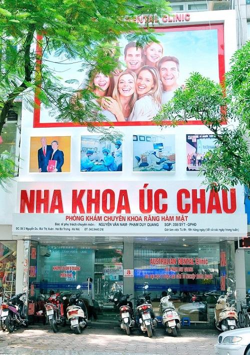Nha khoa Úc Châu Nguyễn Du Hà Nội