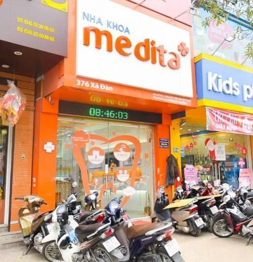 Địa chỉ nha khoa Medita xã đàn ở đâu