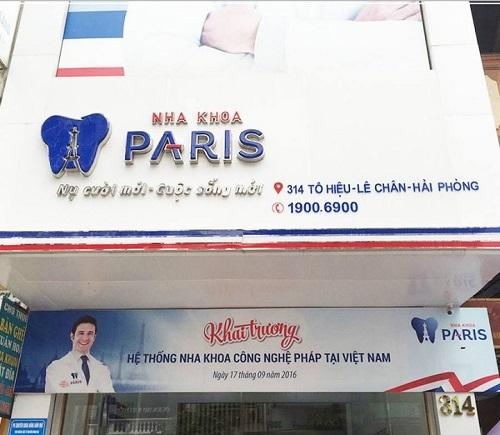 Nha khoa Paris Hải Phòng