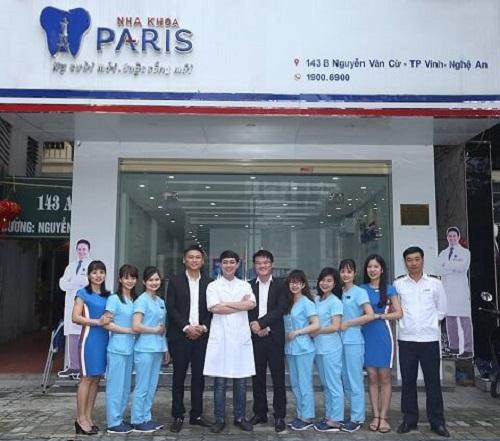 Nha khoa Paris Vinh Nghệ An