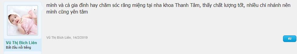 nha khoa Thanh Tâm Tân Phú có tốt không