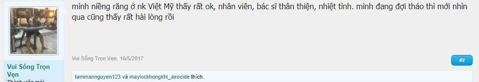 Nha khoa Việt Mỹ có tốt không